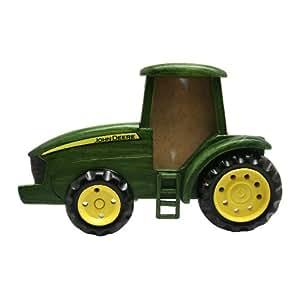 John Deere Cadre photo en bois en forme de tracteur