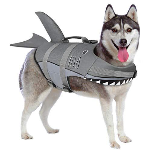 Petacc Chaquetas Salvavidas para Perros Chaleco Salvavidas para Mascotas Flotación Traje de...
