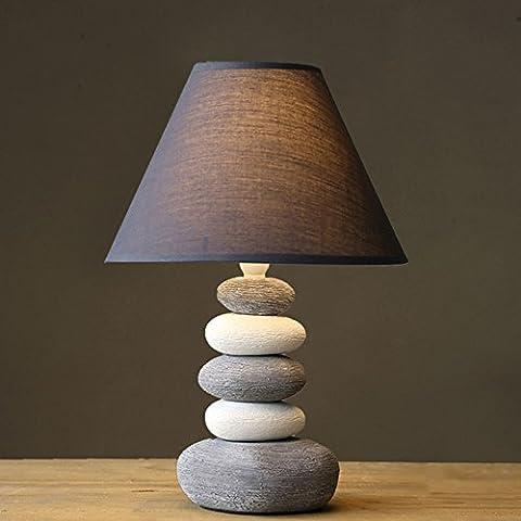 Lampe De Table Moderne Salon Cuisine À La Chambre À Coucher Apprentissage De Chevet Lampe De Céramique Simple Créative
