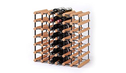 RAXI Marken Holz Weinregal Classic für 42x Flaschen - komplett montiert - Komplett Montiert