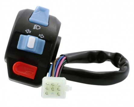 Schaltereinheit Lenker links ohne Bremshebel für REX (Jinan Qingqi, Shenke)-RS 450 [QM50QT-6A]