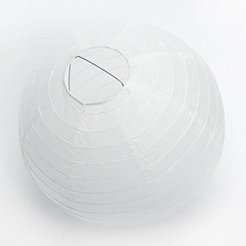 10 Stücke Papierlaterne Laterne Deko Feier Lampions Papierlampen 8
