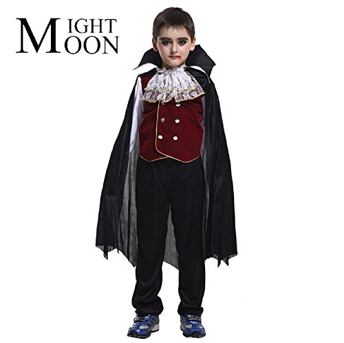 alloween Graf Dracula Vampir Kinder (Dracula-anzug)