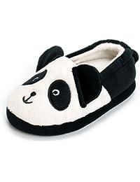 ESTAMICO Scarpe indoor delle pantofole di inverno antiscivolo dei ragazzi delle ragazze dei bambini