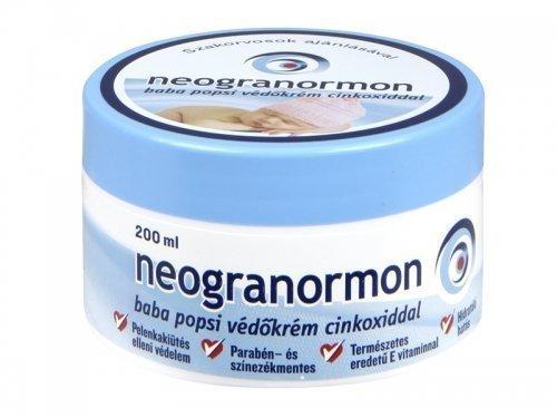 Preisvergleich Produktbild NEOGRANORMON Baby Hautcreme- Windelcreme mit Zinkoxid & Vitamin E -200ml