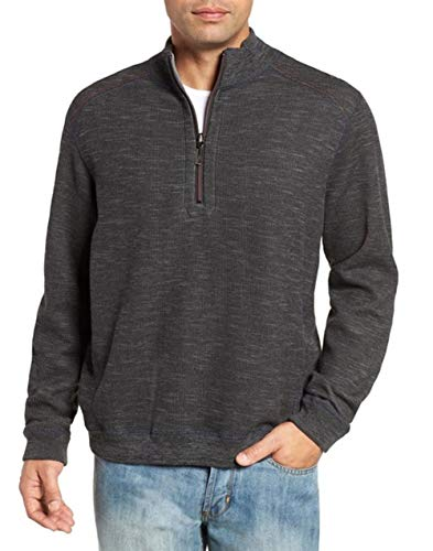 Tommy Bahama Mens Reversible Flipsider 1/2 Zip Pullover Tommy Bahama Reversible Sweatshirt