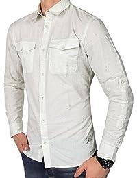 JACK   JONES Herren Hemd jorSCREEN Freizeithemd punktiert Kent Slim Fit f43f0183df