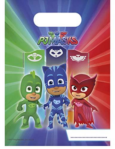 Procos Loot Bag Super Pyjamini-PJ Masks, mehrfarbig, 5PR88637