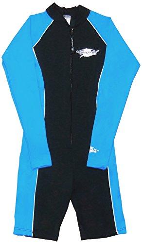 Stachelrochen UV-Schutz Badeanzug One Piece Navy/Azure