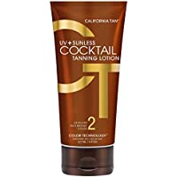 uv & sunless cocktail tanning lotion by