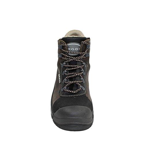 Ergos tibet drapeau chaussures businessschuhe s3 chaussures marron Marron - Marron