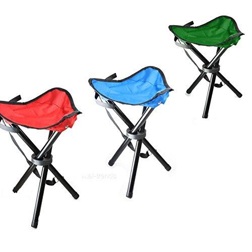 Generic Klappsitz, für Wandern, Angeln, Camping, St, Picknick, Frisierhocker, Picknick, Frisierhocker, Picknick, Hocker, Picknick, Outdoor, Camping, Q, Stuhl, 3 Stück