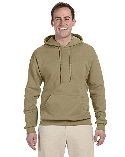Adult 8 oz. NuBlend� Fleece Pullover Hood KHAKI 4XL (Baumwolle-khaki Jerzees)