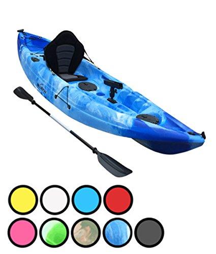 Bluefin Sola Sit On Top Pesca Kayak| Escotillas Almacenamiento