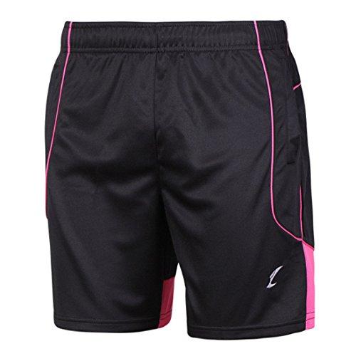 Men's Badminton Quick-Dry Running Shorts red