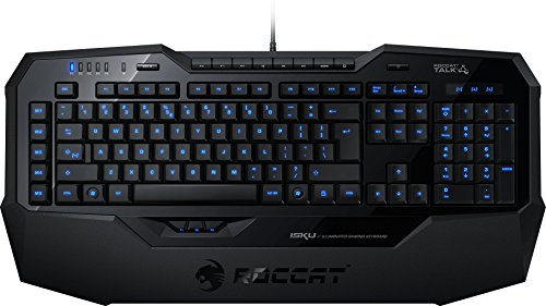 Roccat ISKU Illuminated Gaming Keyboard Tastiera