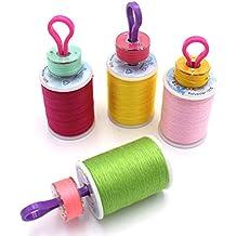 supvox Bobina amigos 30pcs porte-bobines Copains Tread Clips máquina de coser accesorios para inalámbrico
