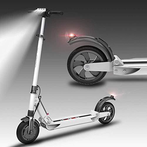 """Monopattino Pieghevole Scooter Elettrico per Adulti, Batteria a Lunga autonomia da 20 km, velocità Massima 15km/h, Pneumatici Pneumatici 8"""" Semplice e trasportare Portatile pendolarismo Scooter"""