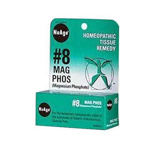 NuAge No 8 Magnesium Phosphate, 125 Tablets (125 Tablets)
