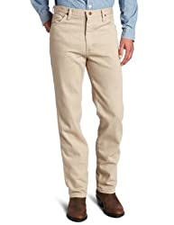 Wrangler Mens Cowboy Cut Original Slim Fit Western Jean,Dark Beige,31x30