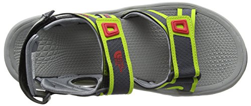 The North Face M HEDGEHOG SANDAL II, Sandales Bride arrière homme Multicolore (Griffin Grey/Lantern Green)