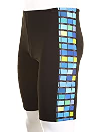 Maru Mens Pacer Colourcard Jammer - Black / Blue - 36""