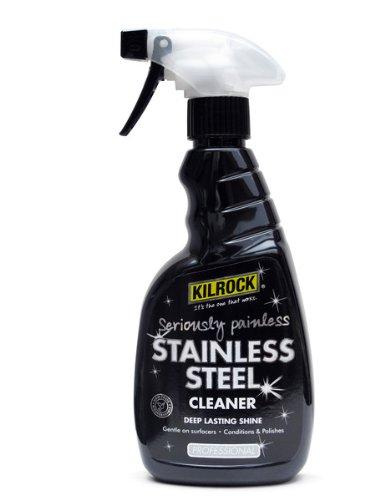 Kilrock Pulitore spray 500ml in acciaio inox professionale
