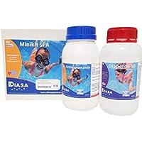 Mini Kit SPA: Pack Especial Mantenimiento Agua de SPA, Jacuzzi y bañeras hidromasaje.
