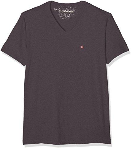 Napapijri Herren T-Shirt Sombre A Grau (Volcano H74)