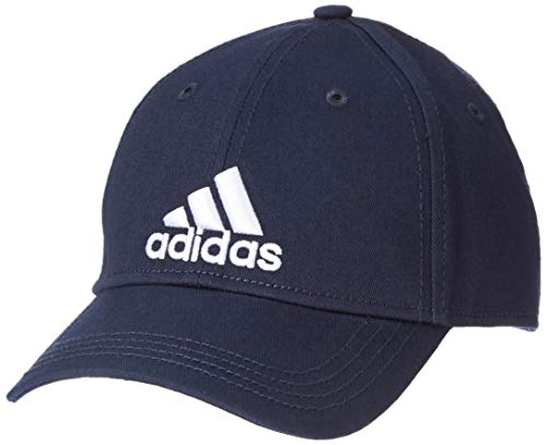 adidas Erwachsene 6P Cotton Cap, Legend Ink/White, OSFM