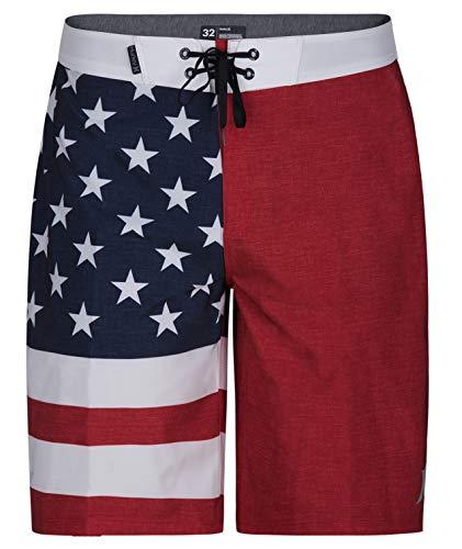Hurley Men's Phantom Cheers USA Flag 20