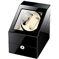 LOKKR Bobinador De Reloj Enrollador De Reloj Reloj Automático con Pantalla 2 Reloj con Cerradura (