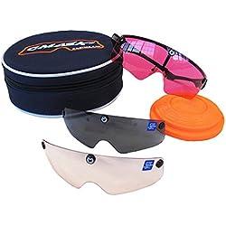 Castellani c-Mask II Montura para Gafas de Tiro + 10Lentes Intercambiables