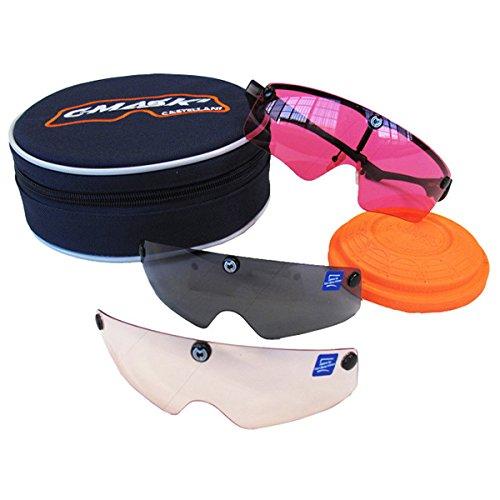 Castellani c-Mask II Montura para Gafas de Tiro + 10Lentes...
