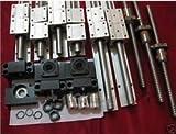 Gowe CNC 3Sets sbr20Rails + 3ballscrews kugelrollspindel–350/650/1050mm bkbf12+ ein wassergekühlte Spindelmotor 2,2KW mit einem VFD als Set