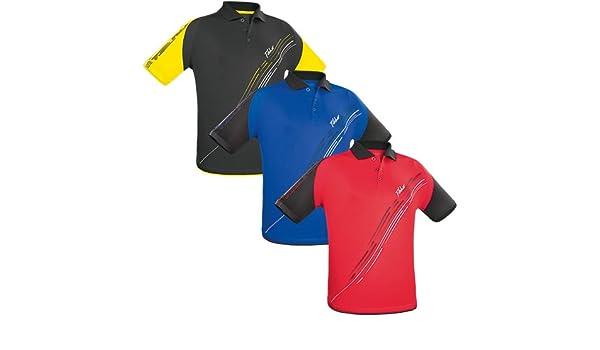 Tibhar Shirt Lane Coton, Options d' XL, Noir/Jaune