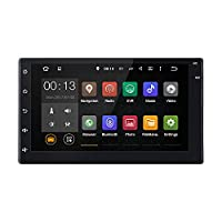 Masione �?? 7 Android Wifi GPS Navigation Bluetooth Stereo 5.1 Lollipop Car Radio 2 DIN Touch Screen Steering Wheel Control Stereo Receiver Head Unit with AV Output 1080P Video Player/FM Mirror Link (No DVD)