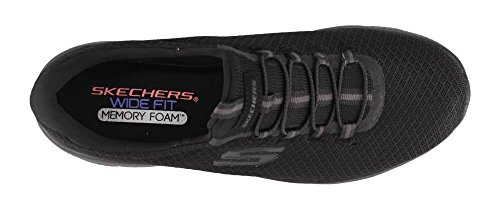 Skechers Dynamight Femme Baskets Mode Bleu Noir