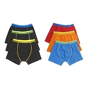 41KplOsn%2BmL. SS300  - Hari Deals Los niños los niños Ropa Interior Boxers Troncos Pantalones Cortos Pantalones (6Unidades, 2–13años