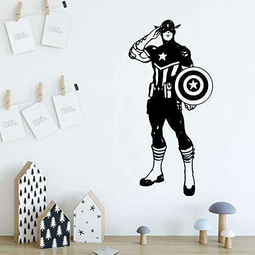 eAvengers einrichtungsgegenstände PVC Aufkleber wasserdicht wandtattoos Kunst Aufkleber kartenfarbe43cm x 89cm ()