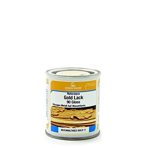 BORMA Acryl Gold Farbe 125ml für Aussenbereich
