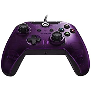 PDP Controller mit Kabel für Xbox One und Series X In Violett [