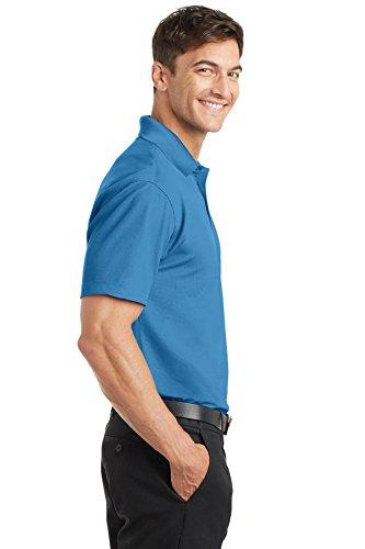 Port Authority Herren Poloshirt, Durchgehend Blau - Celadon Blue
