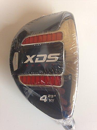 Acer XDS ibrido mano destra grafite rosso signore flex, headcover incluso numero 4 (standard grip) - Signore Golf Headcover