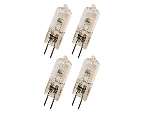 4er Set deelux FCS -24 V / 150 W/G-6,35-3300k - 1000h Projektorlampe