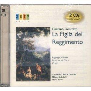 Donizetti: La Figlia Del Reggimento Corso Cover