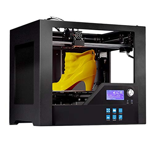 ZHQEUR Vollmetallrahmen des Drucker-Z-603S 3D mit beheiztem Bett-hoher Präzision 280 * 180 * 180mm (11 * 7.1 * 7.1in) Druck der Gestalt-Größen-3d 3D Drucker