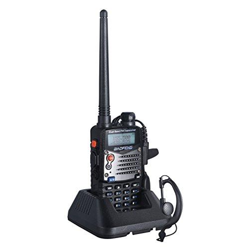 LESHP Walkie Talkie (UHF 400-480 MHz, 128 canales, batería de 1800mA,...