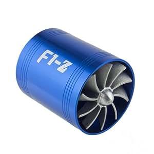 Wadoy ventola per presa d 39 aria a elica doppia f1 z per turbo compressore casa e cucina - Prese d aria per casa ...