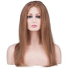 Cabeza de maniquí profesional para mujer con hombros realista tono de piel  pálida peluca sombrero joyería 982f7b501b7